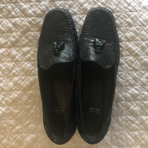 Stuart Weitzman 90's Embossed Loafers